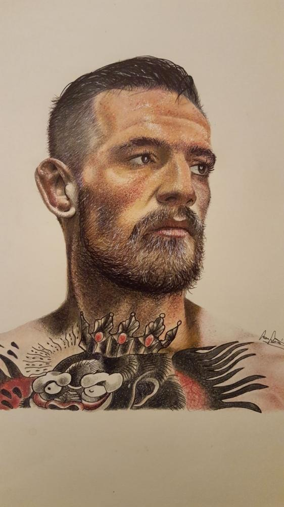 Conor McGregor by SeanLeonardArt